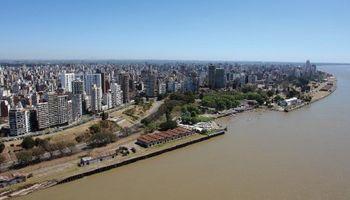 Ranking de temperaturas: Rosario se metió en el top 3 de las ciudades más frías de la Argentina