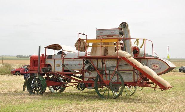 La Rotania fue fabricada en Sunchales en 1929 y restaurada por CLAAS en el año 2000