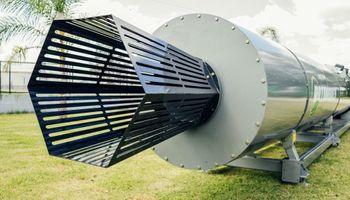 Rotorbuey: así funciona el invento argentino que produce fertilizantes con residuos