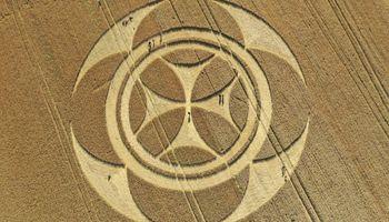 Misterio por la repentina aparición de un círculo perfecto en un campo de Francia: qué dice el productor que lo descubrió