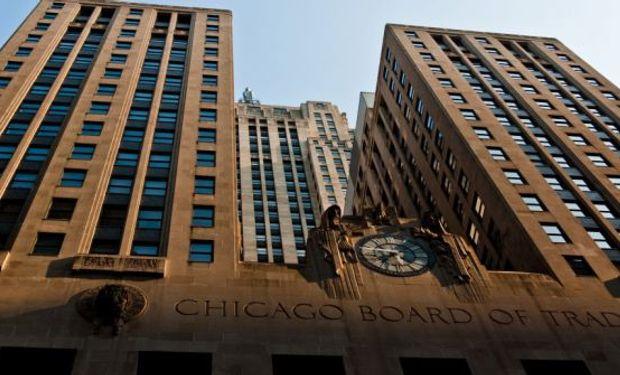 Persisten las bajas en el mercado de Chicago