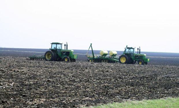 Se espera una mayor superficie de maíz.