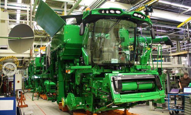 La producción de maquinaria agrícola aumentó un 13,5%