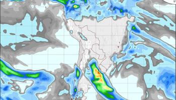 Se esperan lluvias para el fin de semana