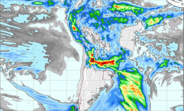 Pronóstico lluvias viernes 17 de enero.