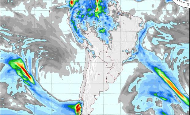 Pronóstico de precipitaciones para el 24 de septiembre.