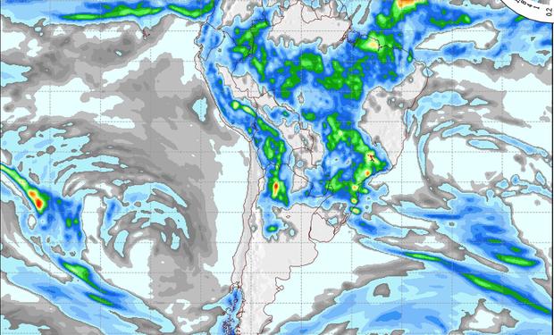 Pronóstico lluvias domingo 12 de enero.