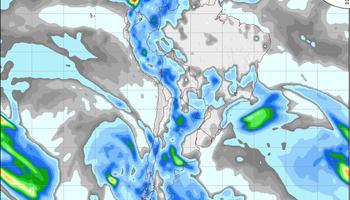 Tiempo inestable con probabilidad de lluvias y tormentas
