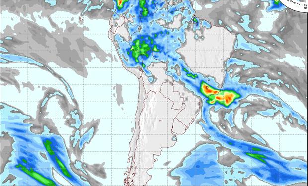 Pronóstico de precipitaciones para el 27 de septiembre.