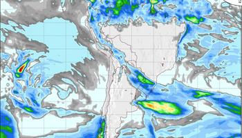Anticipan lluvias para esta semana