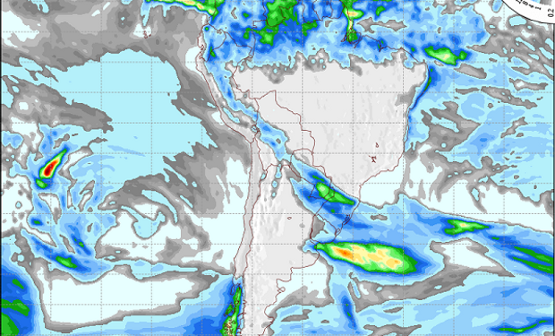 Pronóstico del tiempo: algunas lluvias sobre el este y luego regresa el frío