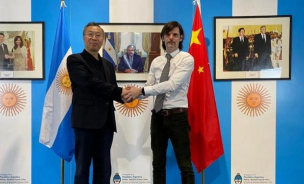 """Vaca Narvaja se refirió a la instalación de granjas y exportación de cerdos a China: """"Argentina tiene mucho potencial"""""""