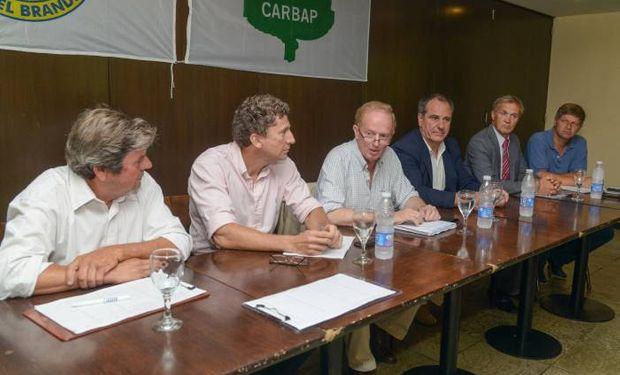 El subsecretario de Lechería del Ministerio de Agroindustria, Alejandro Sammartino, visitó el viernes una de las cuencas Bonaerenses.
