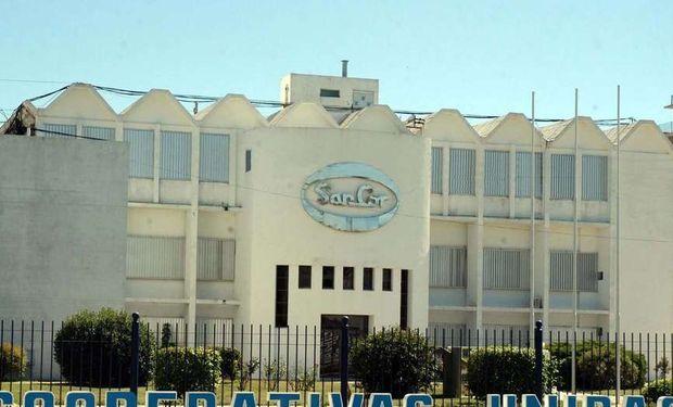 La sede de SanCor en Sunchales, provincia de Santa Fe.