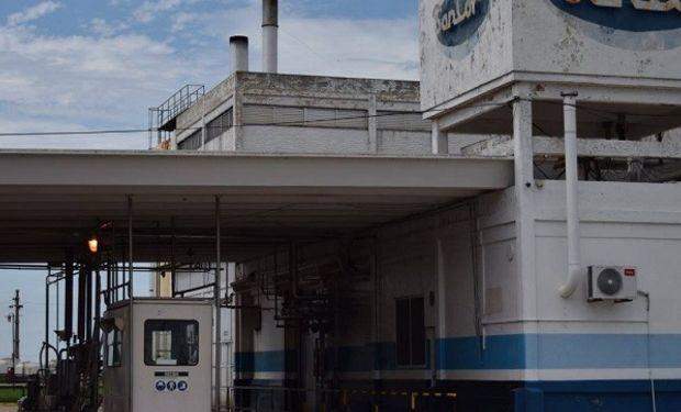 Planta de Sancor en Centeno, ubicada en rutan nacional 34 a más de cien kilómetros de Rosario.