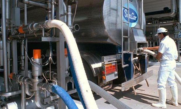 La planta de la empresa láctea, en Morteros.