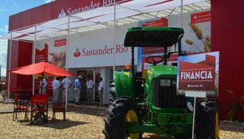 """Santander Rio: """"muy atractivo"""" en Expoagro 2015"""