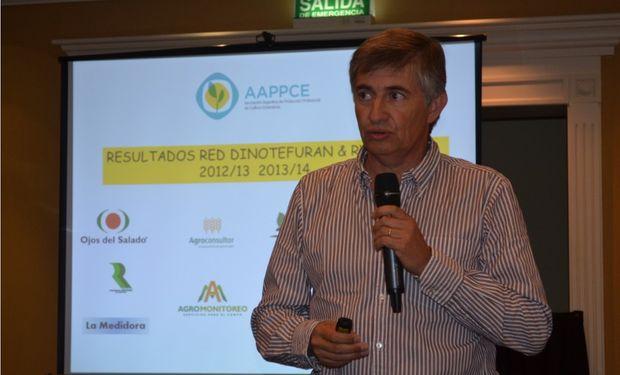 Santiago Barberis, representante de Lares, expone resultados del Programa CropShield