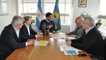 Buenos Aires: Sarquís recibió a representantes del sector avícola