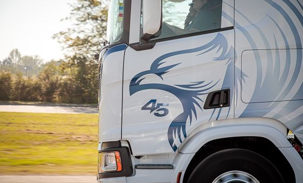"""Edición limitada de Scania: lanzan en Argentina un camión que será """"el sueño de todos los transportistas"""""""