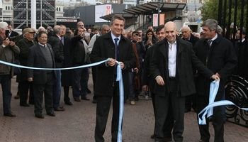 Hubo fuertes reclamos a Scioli en la apertura de la Exposición Rural 2015