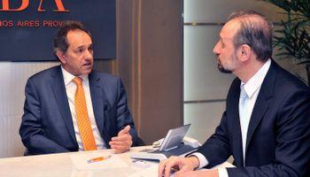 Scioli presentó nuevos beneficios para productores de trigo