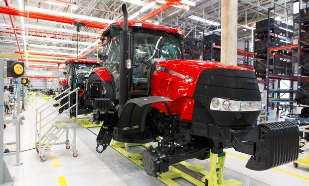 Linea de Montaje Tractores