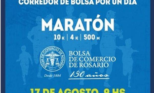 La Bolsa de Comercio de Rosario cumple 130 años y los festeja corriendo