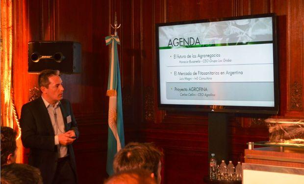 Carlos Cellini, CEO de Agrofina.