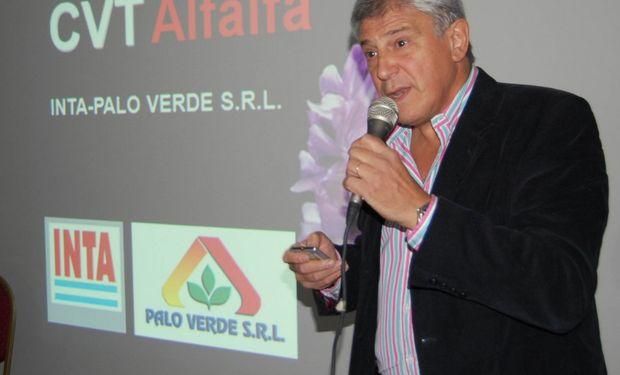 Daniel Basigalup del Inta presentó las tres nuevas variedades logradas mediante el CVT Inta-Palo Verde.