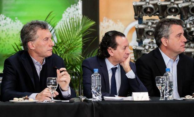 El encuentro se realizó en el predio de la empresa de fabricación de equipos oleohidráulicos Sohipren.