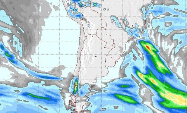 Pronóstico de lluvias para el 27 de agosto.