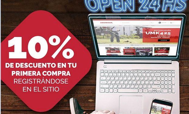 Honda Motor de Argentina desembarca en el comercio electrónico.