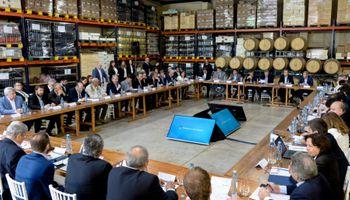 Macri encabezó la Mesa Vitivinícola en Mendoza