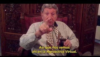 """""""La rueda sigue girando y el campo no para"""": Landriscina invita a sumarse a Agroactiva Virtual"""