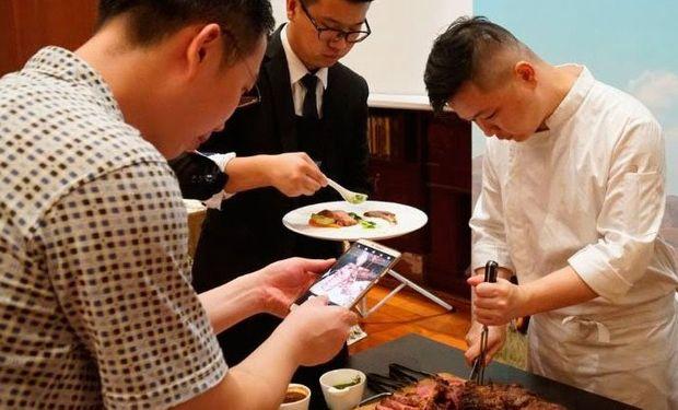 Acciones de promoción del IPCVA en China.