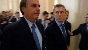 Macri se reúne con Bolsonaro para negociar el arancel externo del Mercosur