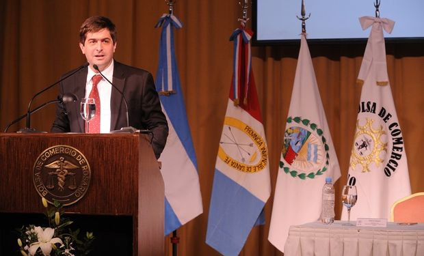Tambien estuvo presente el secretario de Agricultura de la Nación, Roberto Gabriel Delgado.