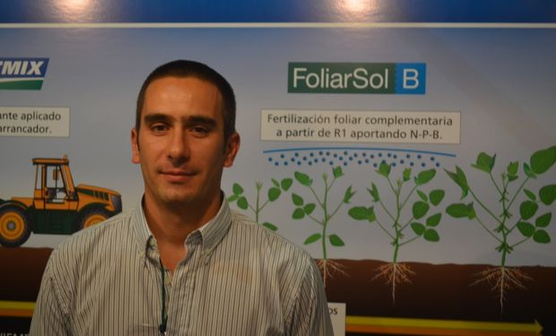 Ing. Agr. Matías Saks, Coordinador Técnico de la Región Pampeana Centro de Bunge Argentina