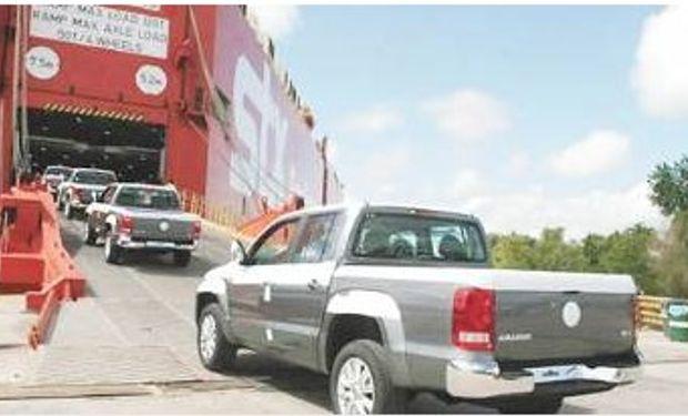 Por el freno de las exportaciones a Brasil, cayó 12% la producción de autos