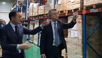 Etchevehere se reunió con Alibaba para potenciar la comercialización de productos argentinos