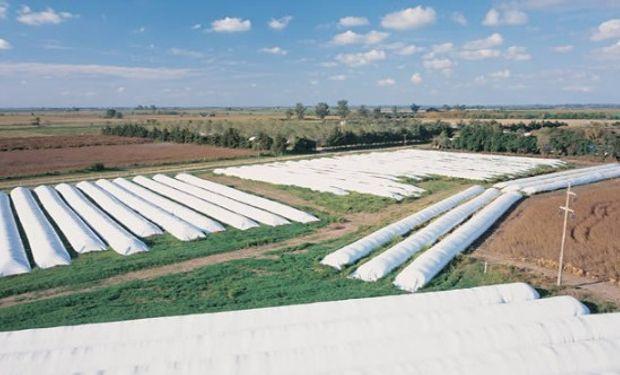 El silo bolsa se consolidó en Argentina como una alternativa viable para almacenar y conservar las cosechas.