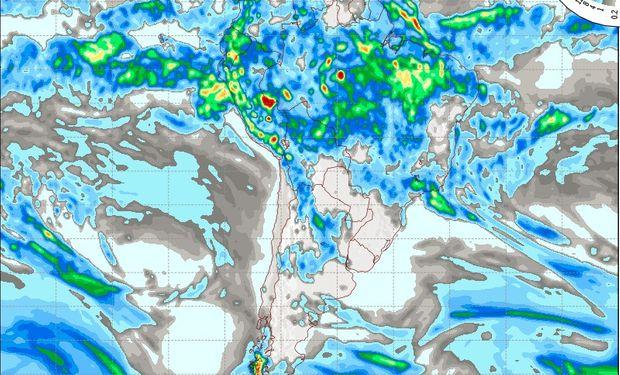 Pronóstico de lluvias para el miércoles 15 de marzo.