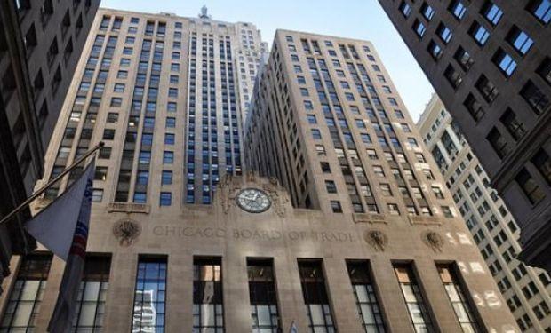 Importantes subas de soja y maíz en Chicago.