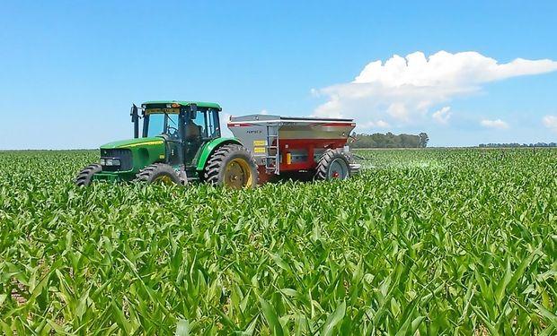 En el 2017 el consumo de fertilizantes en Argentina marcó un nuevo record al alcanzar las 3,77 millones de toneladas.