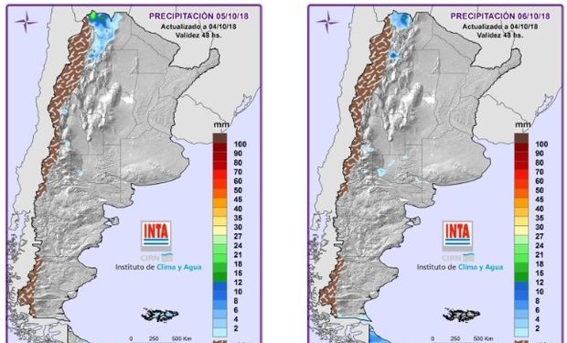 Mapa de Precipitaciones