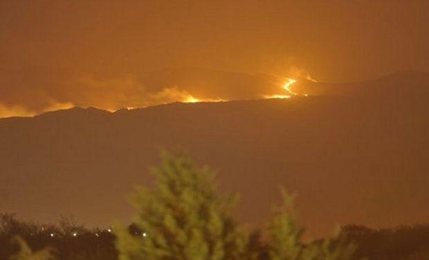 Volvieron los incendios a las Sierras de Córdoba