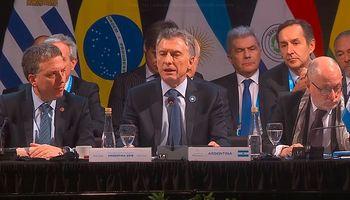 Macri resaltó que el Mercosur impulsa nuevas negociaciones con actores claves