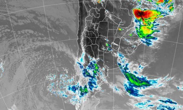 El SMN alerta por probables tormentas fuertes.
