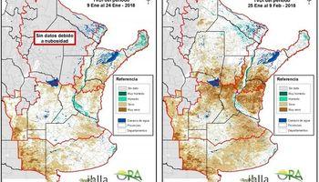El número de áreas secas sigue en aumento
